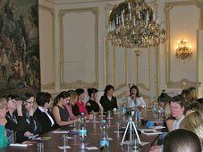L'ambassade de France à Prague a accueilli le Lobby tchèque des femmes, photo: Facebook de Česká ženská lobby
