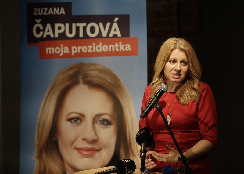 Zuzana Čaputová, photo : ČTK / AP Photo / Petr David Josek