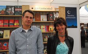 Petr Himmel et Anežka Charvátová, photo: Anne-Claire Veluire