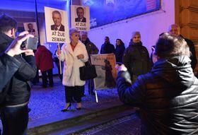 Supporters of Miloš Zeman, photo: CTK