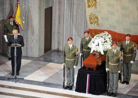 Las honras fúnebres (Foto: ČTK)