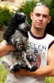 Михал Губик и его собака (Фото: ЧТК)