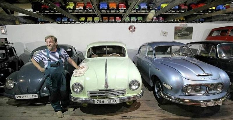 Франтишек Просецкий, фото: Музей старинных автомобилей