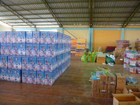 Filtros de agua listos para su distribución, foto: Marie Tesařová
