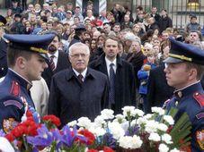 Le  président Vaclav Klaus a célébré le 28 octobre, photo: CTK