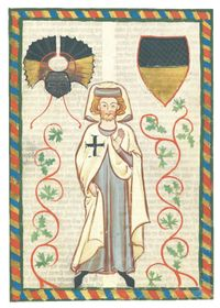 German Colonizer - Knight Manesse (Codex Manesse), photo: Public Domain
