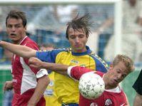 Петр Воржишек (в середине) из команды «Теплице» (Фото: ЧТК)