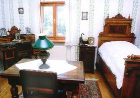 La casa natal de Janácek en Hukvaldy