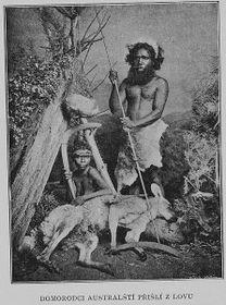 Австралийские охотники, Фото из книги Йозефа Корженского