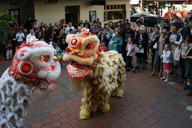 Lion Dance, photo: Toby Hudson, CC 3.0 license