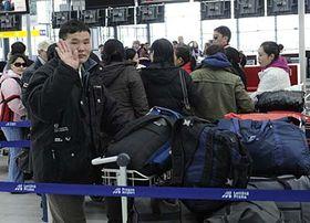 Les seize premiers ressortissants mongols sont partis le 19 février, photo: CTK
