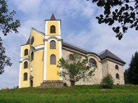 Kostel vNeratově, foto: Jik jik, Wikimedia Commons, CC BY-SA 4.0