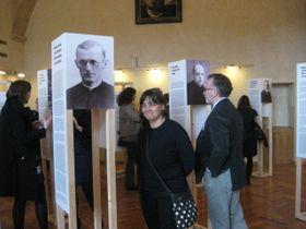 """Ausstellung  """"Zeugen für Menschlichkeit"""" (Foto: Martina Schneibergová)"""