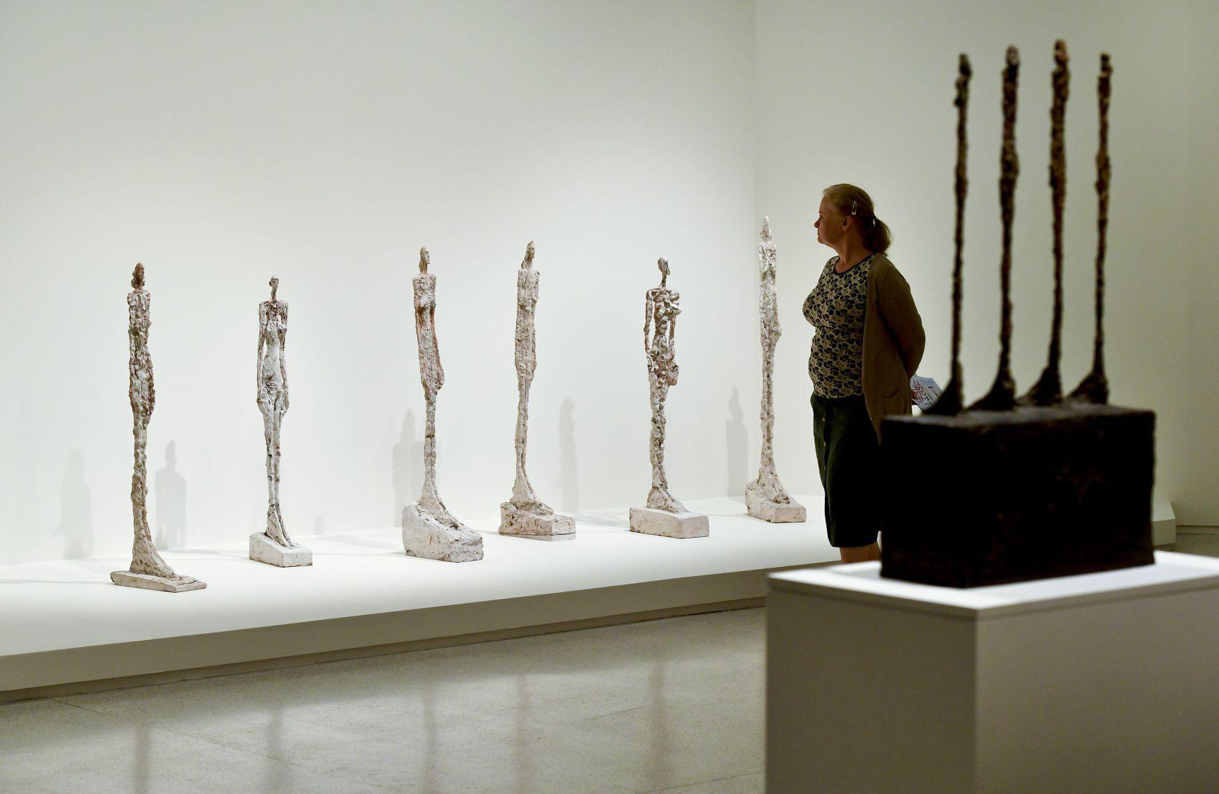 Prague exhibition captures full range of sculptor Giacometti's