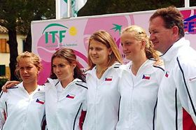 Czech Fed Cup team, photo: CTK