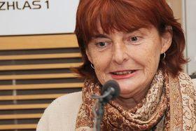 Marie Vodičková, foto: Matěj Pálka, ČRo