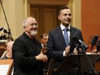 Patrick Doyle et Nikola Bojčev, photo: Facebook du festival Film Music Prague