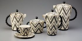 Coffee set by Pavel Janák