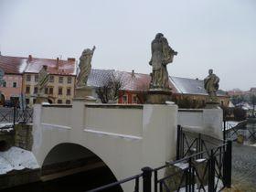 мост перед ратушей, фото: Ирена Шароунова