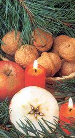 Rozkrojení jablíčka je také vánoční zvyk