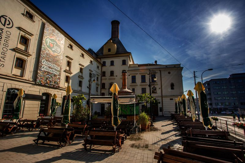 Part of the historical Starobrno brewery is now a restaurant, photo: archive of Starobrno brewery