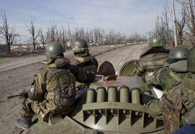 Pro-Russian separatists in Ukraine, photo: ČTK