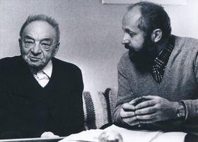 Эрнест Кольман и Франтишек Яноух