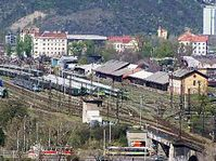 Bubny railway yard