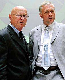 Mirek Topolánek y Václav Pačes (Foto: CTK)
