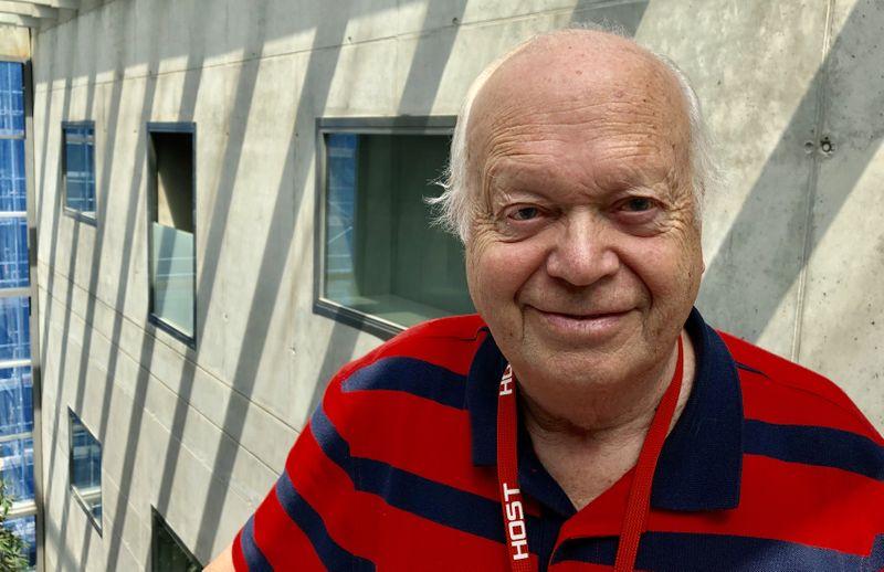 Dr. Miloš Krajný, photo: Ian Willoughby