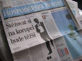 Hospodářské Noviny, 21.1.2010