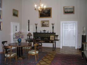 Los interiores del palacio de Kynzvart
