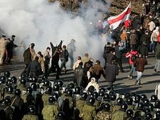 Demonstrationen in Minsk (Foto: CTK)
