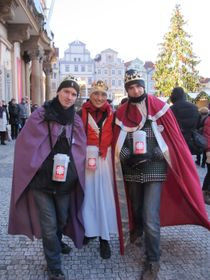 Ярмила Ломозова (в центре), фото: Мартина Шнайбергова
