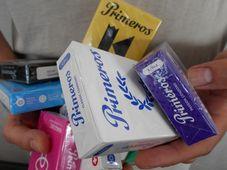 Презервативы Primeros в новых упаковках, Фото: Эва Туречкова, Чешское радио - Радио Прага