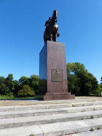 Tomáš Garrigue Masaryk statue, Chicago, photo: Klára Stejskalová