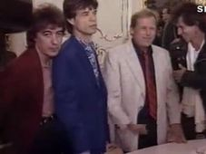 Rolling Stones with Václav Havel, photo: Czech Television