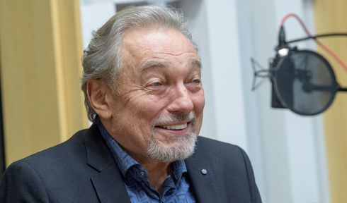 Karel Gott, photo: Khalil Baalbaki, ČRo