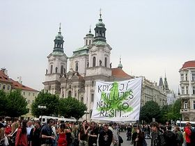 The march began in Old Town Square, photo: Jan Richter