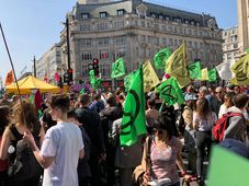 Extinction Rebellion demonstration, London, April 19 2019, photo: Netherzone, CC BY-SA 4.0