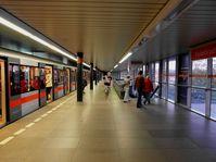 Die Station Vyšehrad heute... (Foto: Aktron / CC BY-SA 3.0)