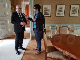 Daniel Herman, Ian Willoughby, photo: Ondřej Tomšů