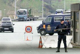 Medidas de seguridad después de los atentados en Madrid, foto: CTK