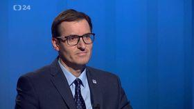 Tomáš Neřold (Foto: ČT24)