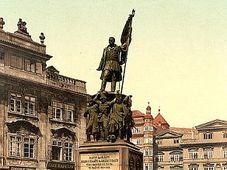 La statue du maréchal Radetzky à Prague