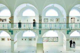 Выставка Giacometti – Picasso – Chirico в Либереце, Фото: ЧТК