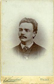 Antonín Dvořák in 1868