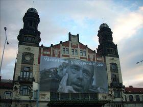 Fantova budova na hlavním pražském nádraží, foto: Elis J, Wikimedia CC BY-SA 3.0