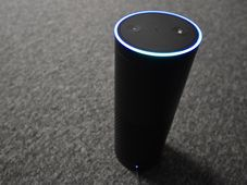 Alexa smart speaker, photo: Ondřej Tomšů