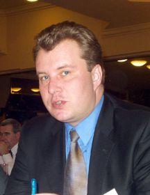Minister der Industrie und des Handels Martin Kocourek